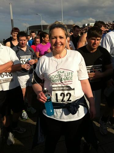 Claire completes the Liverpool Half Marathon