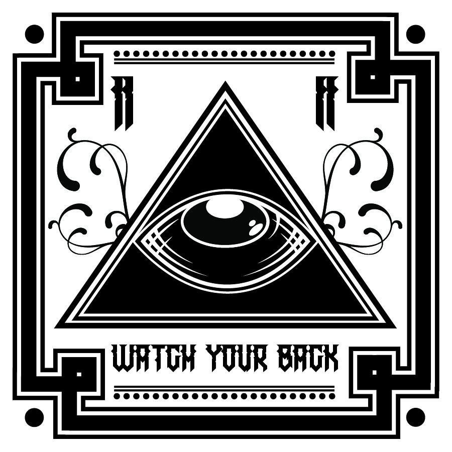 Abdz sticker watch your back by steve schiavello