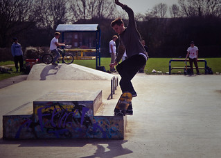 Ed Wells - 5.0 Shuv it out  @ Summertown Skatepark, Oxford