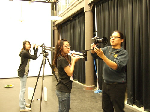 indiGO-JIB with Asian Arts Initiative Crew