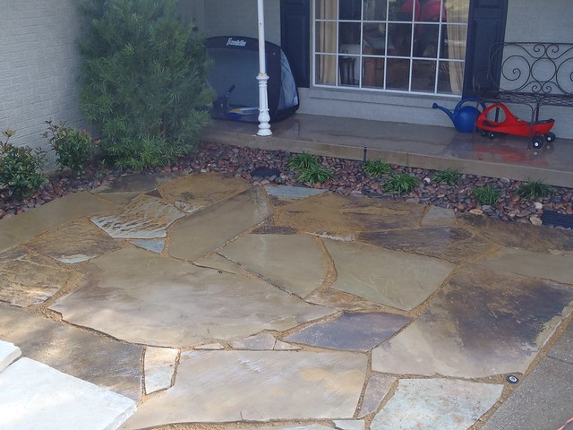 Flagstone patio install dallas tx flickr photo sharing Flagstone patios colleyville tx