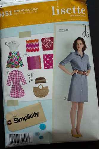 Simplicity 0451 - Traveler dress