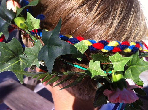 norwegian whipcord + flower crown