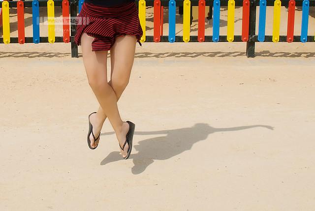 Bailarina levitando ;)