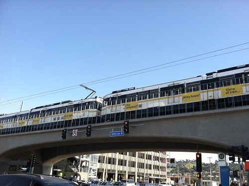 Aerial station at La Cienega/Jefferson