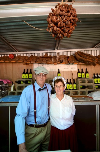 Ian and Nan Pike the fig farm owners