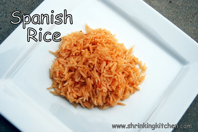 The *Best* Spanish Rice E-V-E-R