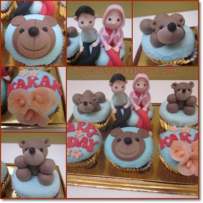 Bear Cuppies by DiFa Cakes