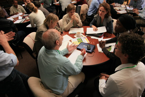 Moving social learning way beyond the original academic group - is it realistic? (Photo credit: ILRI/Z. Sewunet)