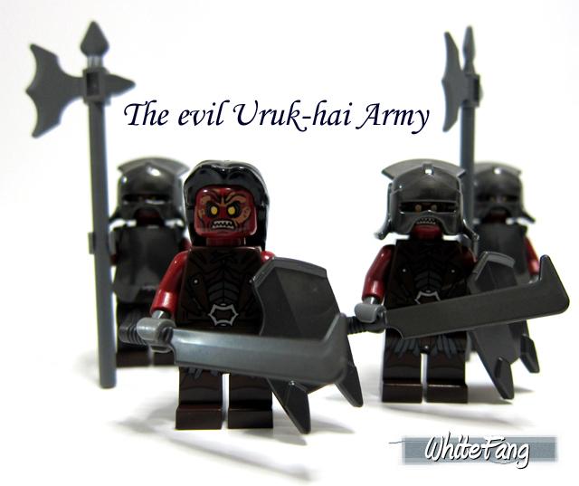 REVIEW: 9471 Uruk-Hai Army 7165558363_6e17880e19_o