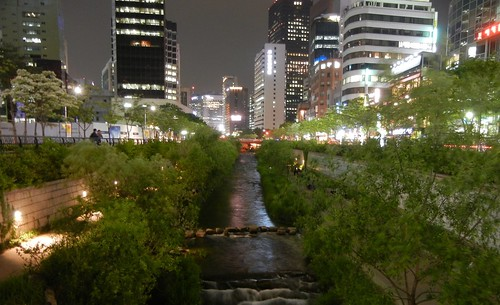 View from Riverwalk in Seoul