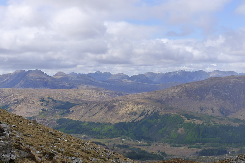 Torridon Hills above Craig