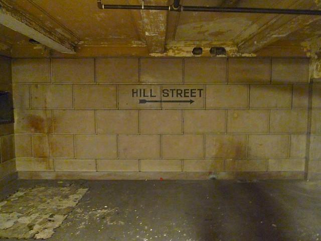 Hill Street sign