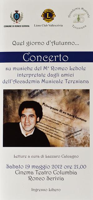 Concerto per Romeo
