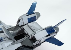 6869 Quinjet Top Hatch Open