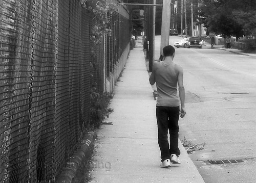 Walkin' and Talkin' BW