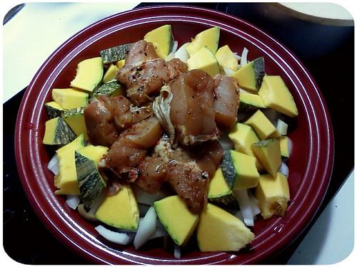 明天午餐主菜 ::: 南瓜洋蔥雞 by 南南風_e l a i n e
