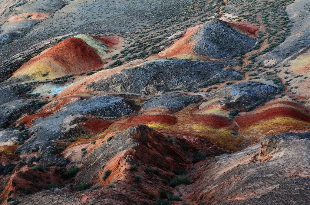 Цветные ландшафты Данксия