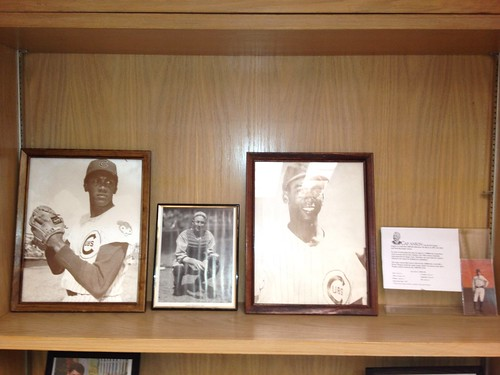 Four Cubs baseball greats