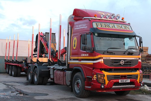 Ferguson Transport Newest Volvo FMX N50 AFT