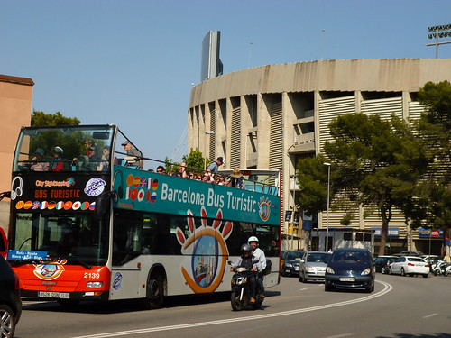 Near Camp Nou