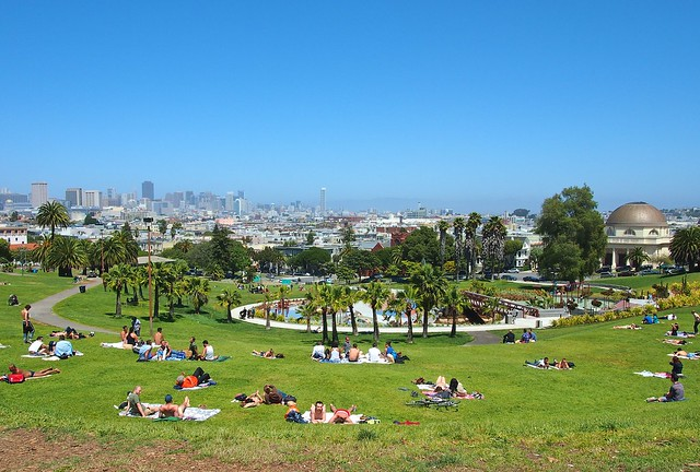 Delores Park, San Francisco