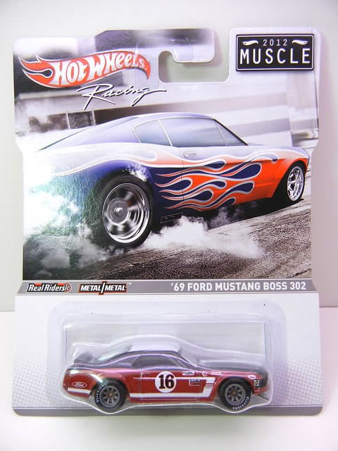 hot wheels 2012 muscle '69 ford mustang boss 302 (1)