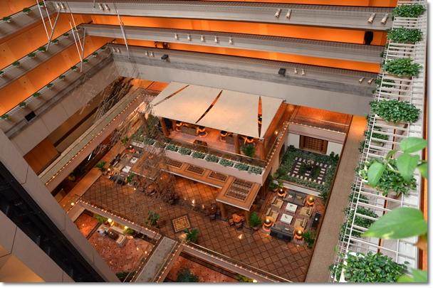 Corridor of Regent Hotel, Singapore