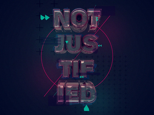 NOTJUSTIFIED by StuartWade