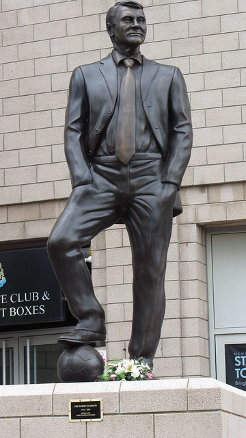 Statue of Bobby Robson