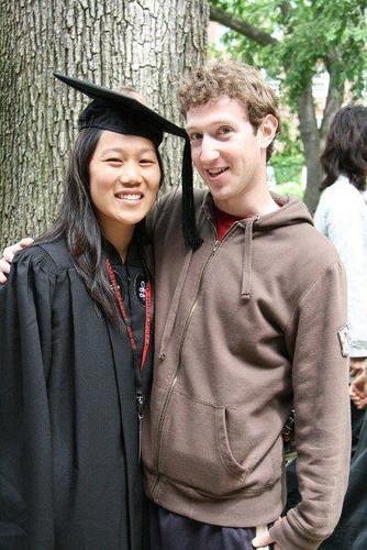Priscilla Chan saat lulus kuliah jurusan biologi di Harvard University