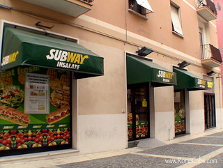 Subway in Civitavecchia