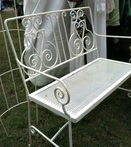 Brimfield Iron Bench Jace Int