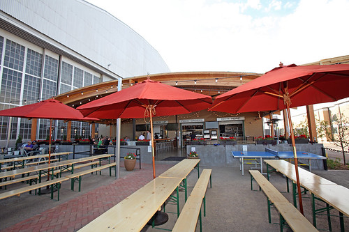 Lowry Beer Garden Eater Denver