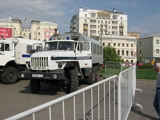 Gefangenentransporter sowjetischer Bauart