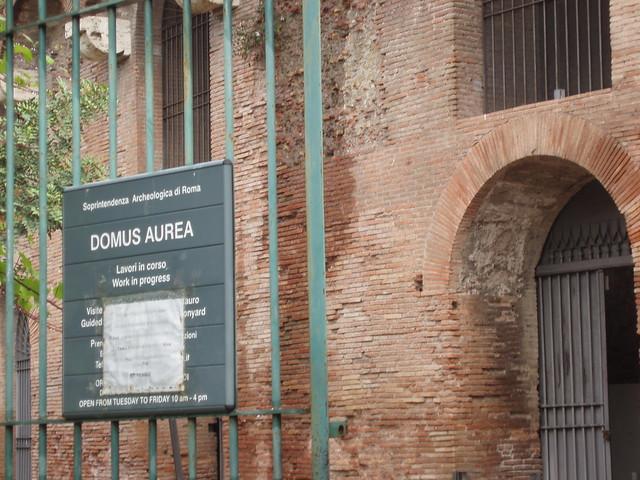 Domus Aurea Excavations