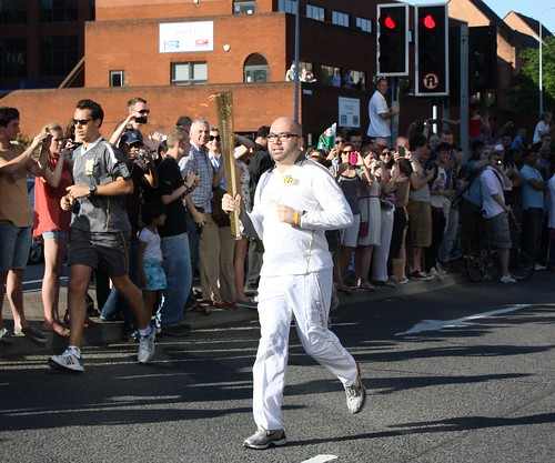 2012 Olympic Torch Relay - Cardiff