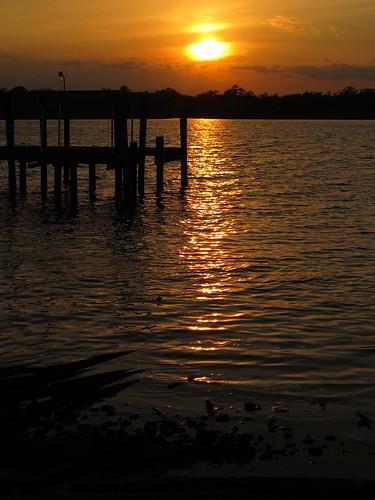 sunset geotagged northcarolina 2012 newbern trentriver geo:lat=35091584 geo:lon=77046288