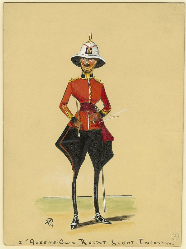 absurd stylised sketch of turn-of-the-century infantry soldier super-skinny legs