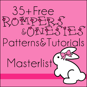 Max California Free Patterns And Tutorials For Rompers