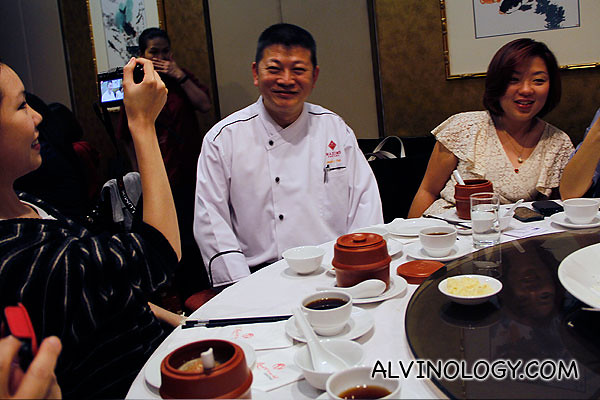 Head Chef, Chef Jacky Yap Sak Chong, who has been with Genting Palace Restaurant for more than 5 years