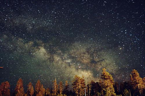 無料写真素材, 自然風景, 空, 夜空, 星, 天の川・銀河系