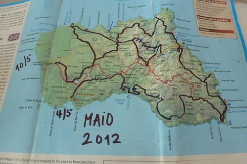 mapa S Maria