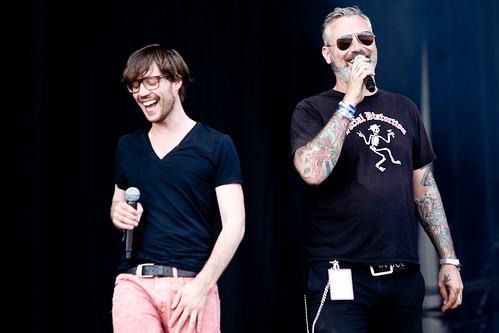Pinkpop 2012 mashup foto - Pinkpop 2012 Babylon Circus_ENZ1011