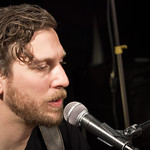 Great Lake Swimmers perform live in WFUV's Studio A. photo by Erica Talbott