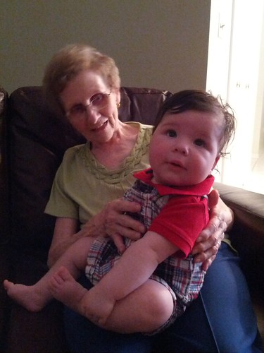 joshua and his great grandma