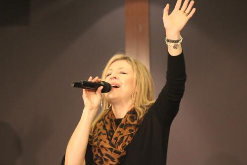 Darlene enjoying God