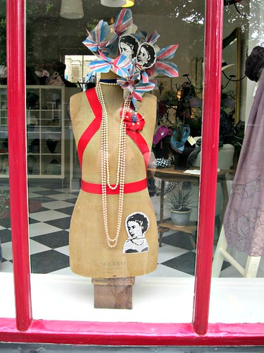 Queen's Jubilee Window Decor