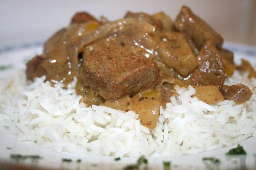 27 - Lamm Tandoori / Lamb tandoori - CloseUp