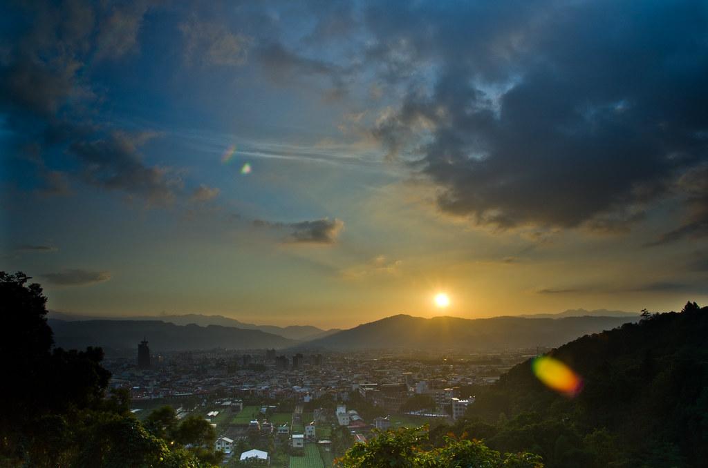 虎頭山夕陽